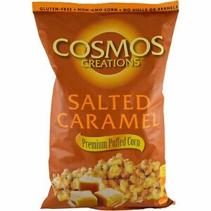 Cosmos Creations Premium Puffed Corn Gluten Free Salted Caramel LARGE 24 Oz