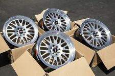 17x8/17x9 XXR 531 4x100 4x114.3 +25 Used Silver Wheels Aggressive Fits E30 240sx