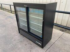 2018 True commercial 2-door glass cooler refrigerator Drink Beverage Gdm-41Sl-48