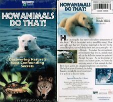 How Animals Do That VHS Video Tape New Discovery Channel