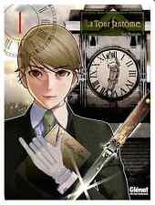 mangas La Tour Fantôme tome 1 Seinen Taro Nogizaka Glénat Suspense Fantastique