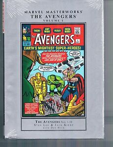 Marvel Masterworks The Avengers Vol 1 by Don Heck Jack Kirby & Stan Lee HC new