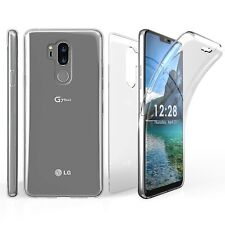 For LG G7 ThinQ Tri Max Slim 360 Full Body Front Back Screen Protector Case