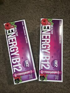 Zipfizz Healthy Energy Drink Mix Hydration with B12 and Vitamins Berry LOT OF 2