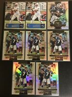 (8) 2016 JACOBY BRISSETT PANINI SLECT SILVER PRESTIGE LOT COLTS ROOKIE RC