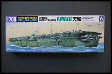 Aoshima Marina portaaviones japonés Amagi línea de agua 218 Nr 24621-2000 1:700