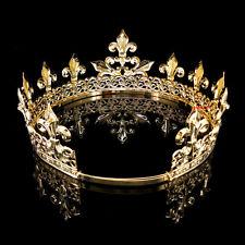 Herrenkaiser Mittelalterliches Fleur De Lis König Krone 18-22cm Durchmesser