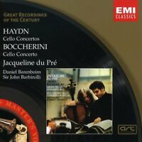 Haydn & Boccherini Cello Concertos Jacqueline Du Pre EMI 9-trk CD NEW/SEALED