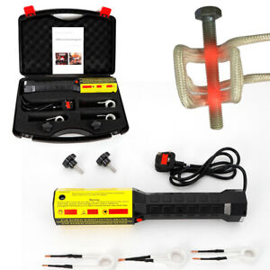 Magnetic Induction Heater Kit 1000W Automotive Flameless Heat Induction UK Plug