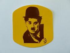 VECCHIO ADESIVO / Old Sticker CHARLIE CHAPLIN (cm 7 x 8)