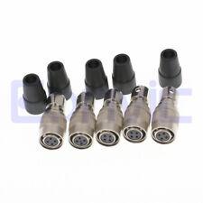 5pcs SmallHD 4 pin hirose HR10A-7P-4S Female Power Plug Push Pull connector