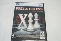 Fritz Chess Twelfth Edition PC-DVD FOR WINDOWS