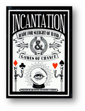 Incantation Midnight Edition Playing Cards Poker Cardistry