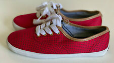 NEW! TOMMY HILFIGER TAHLOR RED OXFORD CASUAL SHOES SNEAKERS 6 36 SALE