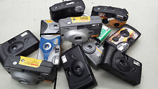 Disposable Camera Shells - lot of 10 empty, random lot, for reloading or crafts