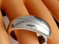 Gebrauchter Silberring ECHTES SILBER 925/000 Gewicht 6.95 g. Größe innen Ø.18.78