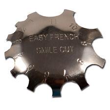 Edge Trimmer Smile Line Schablone French Acryl Modellage Nageldesign #00689