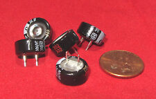 5 pk  Panasonic Coin Electrolytic Capacitor 5.5V 0.1F 75OHM Super Ultracapacitor
