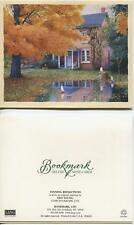 VINTAGE CAMERA CLOCK BOOK EYELGASSES 1 AUTUMN TOY BOAT COLONIAL HOUSE CARD