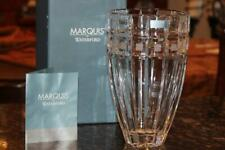 """Marquis by Waterford Crystal Quadrata 8"""" Vase #108281 New in Box"""