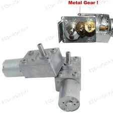 6V 100rpm High Torque Turbo Worm Geared Motor DC Motro for DIY Scroll Curtain