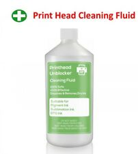 Print Head Cleaning Fluid. Unblocks Canon Printer Nozzles 500ml Cleaner 17 ounce