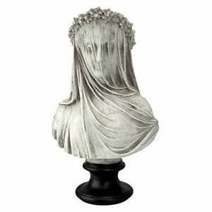 Veiled Maiden Sculptural Bust