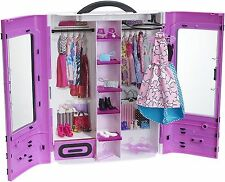 Barbie Clothes Closet Best Ultimate Doll Clothing Wardrobe Storage Organizer Toy