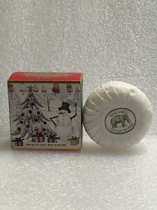 Michel Design Works Christmas Moisturizing Shea Butter Soap 3.5 oz Snowman NEW!