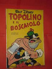 ALBO D'ORO-TOPOLINO n° 53 -b-DEL 1953-IL BOSCAIOLO -DA LIRE 50-mondadori-disney