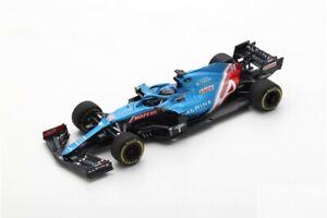 1/43 Spark Alpine A521 N°14 F1 Alpine Team GP Bahrain 2021 Fernando Alonzo