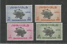 Bahawalpur 1949 U.P.U SG, 43-46 u/Menta Lote 7969A