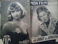 """MON FILM 1950 N 224 """" LES AMANTS DU CAPRICORNE"""" avec INGRID BERGMAN et J. COTTEN"""