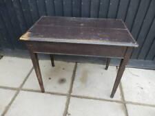 Dining table, pine, 92cm x 55cm, antique