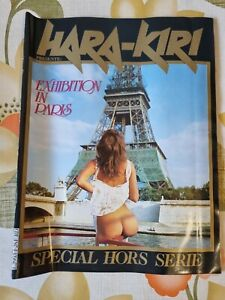 revue magazine érotique HARA-KIRI N°1 FEMME GIRLS X NU adulte PHOTOS Hors Série