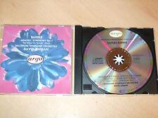 Samuel Barber - Adagio Symphony No.1  - David Zinman (CD) Mint/New  Fast Postage