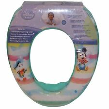 DISNEY MICKEY MOUSE PADDED TOILET SEAT POTTY TRAINING