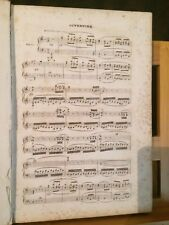 Halévy L'éclair opéra partition chant piano reliée ancienne éditions Schlesinger