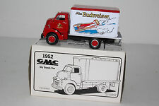 FIRST GEAR DIECAST 1952 GMC DRY GOODS VAN, MISS BUDWESIER, 1:34, NEW IN BOX