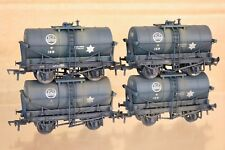 BACHMANN 37-656A WEATHERED RAKE of 4 BR ICI TANK WAGON 159 np