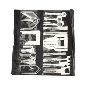 38Pcs/Set Vehicle Car Stereo Radio Release Removal Tools Key Kit with Bag KenwN8