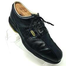 FootJoy Dryjoys Black Leather Lace Up Croc Soft Spike Golf Shoes 53614 Mens 8 M