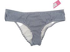 New listing Xhiaration Juniors' L (8-10) Cheeky Black/White Stripe Bikini Bottom