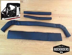 1986-1994 Suzuki Samurai Sport Bar Cover Roll Cage Pad Kit Black
