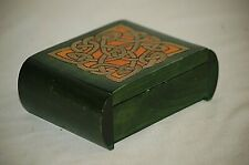 Handmade Decorative Top Trick Wooden Puzzle Box Secret Opening Made in Poland