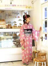 How to Make Japanese Kimono Yukata by sewing machine Design Making Pattern Book