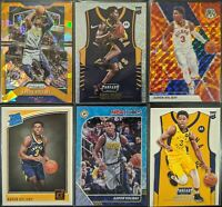 Lot of (6) Aaron Holiday, Including Prizm orange ice, Threads dazzle RC & more
