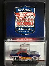 Hot Wheels 14th Annual Collectors Nationals '70 Dodge Hemi Challenger 1933/2000