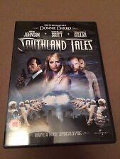 Southland Tales (DVD, 2008) the rock, seann william scott, region 2 uk dvd