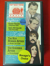 The Man from U.N.C.L.E. UNCLE Vol. 11 VHS Hot Number Suburbia Sonny Bono & Cher